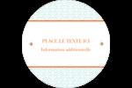 Savons Deco Étiquettes rondes - gabarit prédéfini. <br/>Utilisez notre logiciel Avery Design & Print Online pour personnaliser facilement la conception.