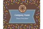 Bring festive flair to projects with printable pre-designed Donut Sprinkles templates.