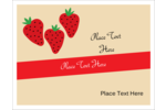 Add deliciously fresh style to projects with pre-designed Strawberry Preserves templates.