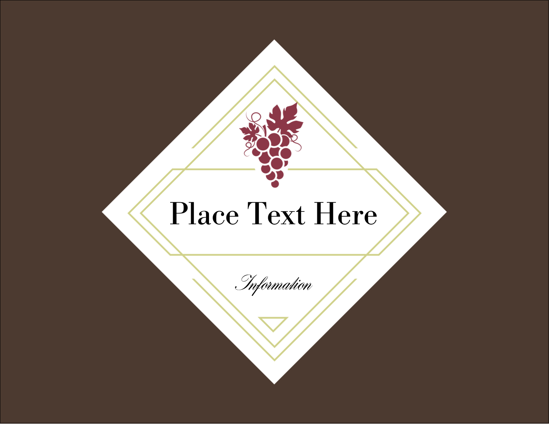 "4¼"" x 5½"" Postcard - Grapes"