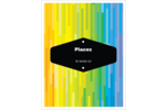 Motif géométrique arc-en-ciel Étiquettes d'expéditions - gabarit prédéfini. <br/>Utilisez notre logiciel Avery Design & Print Online pour personnaliser facilement la conception.