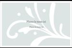 Filigrane gris Cartes de souhaits pliées en deux - gabarit prédéfini. <br/>Utilisez notre logiciel Avery Design & Print Online pour personnaliser facilement la conception.