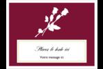 Roses en fleur Étiquettes badges autocollants - gabarit prédéfini. <br/>Utilisez notre logiciel Avery Design & Print Online pour personnaliser facilement la conception.