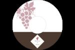 Raisins Étiquettes Pour Médias - gabarit prédéfini. <br/>Utilisez notre logiciel Avery Design & Print Online pour personnaliser facilement la conception.