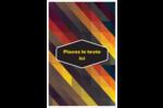 Motif géométrique noir Cartes Et Articles D'Artisanat Imprimables - gabarit prédéfini. <br/>Utilisez notre logiciel Avery Design & Print Online pour personnaliser facilement la conception.