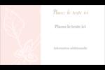 Fleur rose Carte d'affaire - gabarit prédéfini. <br/>Utilisez notre logiciel Avery Design & Print Online pour personnaliser facilement la conception.