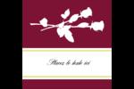 Roses en fleur Étiquettes carrées - gabarit prédéfini. <br/>Utilisez notre logiciel Avery Design & Print Online pour personnaliser facilement la conception.