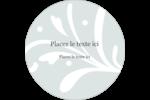 Filigrane gris Étiquettes rondes - gabarit prédéfini. <br/>Utilisez notre logiciel Avery Design & Print Online pour personnaliser facilement la conception.