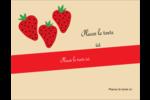 Fraises en conserve Carte Postale - gabarit prédéfini. <br/>Utilisez notre logiciel Avery Design & Print Online pour personnaliser facilement la conception.