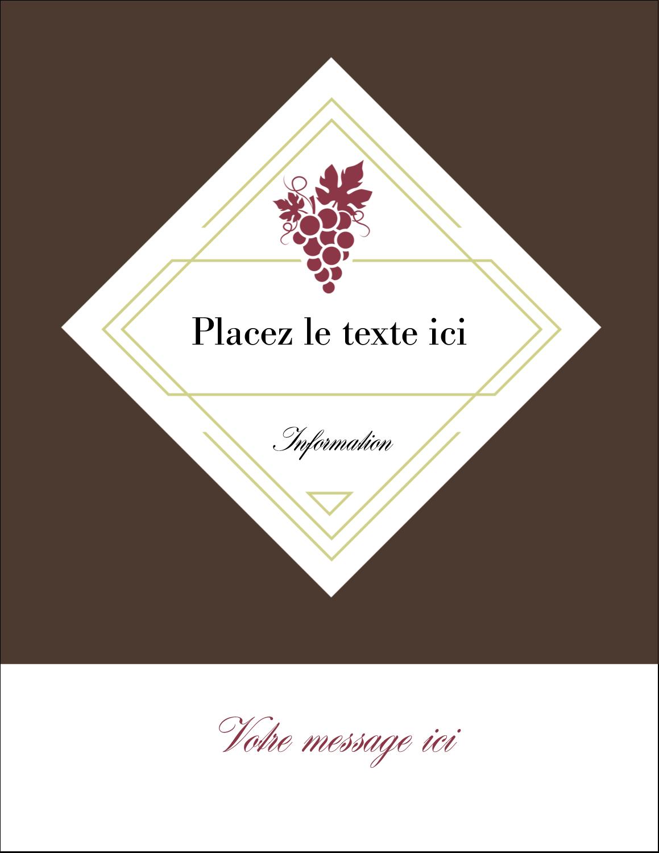 "4¼"" X 5½"" Carte Postale - Raisins"