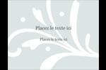 Filigrane gris Carte Postale - gabarit prédéfini. <br/>Utilisez notre logiciel Avery Design & Print Online pour personnaliser facilement la conception.