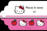 Hello Kitty adore les pommes! Étiquettes imprimables - gabarit prédéfini. <br/>Utilisez notre logiciel Avery Design & Print Online pour personnaliser facilement la conception.
