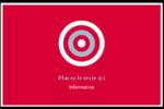 Flèche marine Cartes de souhaits pliées en deux - gabarit prédéfini. <br/>Utilisez notre logiciel Avery Design & Print Online pour personnaliser facilement la conception.