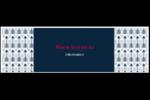 Flèche marine Affichette - gabarit prédéfini. <br/>Utilisez notre logiciel Avery Design & Print Online pour personnaliser facilement la conception.