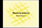 Entrelacs jaunes Cartes de notes - gabarit prédéfini. <br/>Utilisez notre logiciel Avery Design & Print Online pour personnaliser facilement la conception.