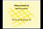 Entrelacs jaunes Étiquettes badges autocollants - gabarit prédéfini. <br/>Utilisez notre logiciel Avery Design & Print Online pour personnaliser facilement la conception.