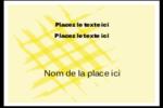 Entrelacs jaunes Badges - gabarit prédéfini. <br/>Utilisez notre logiciel Avery Design & Print Online pour personnaliser facilement la conception.