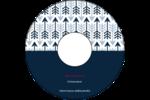 Flèche marine Étiquettes Pour Médias - gabarit prédéfini. <br/>Utilisez notre logiciel Avery Design & Print Online pour personnaliser facilement la conception.