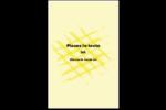 Entrelacs jaunes Cartes Et Articles D'Artisanat Imprimables - gabarit prédéfini. <br/>Utilisez notre logiciel Avery Design & Print Online pour personnaliser facilement la conception.