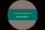 Formes modulaires Étiquettes Voyantes - gabarit prédéfini. <br/>Utilisez notre logiciel Avery Design & Print Online pour personnaliser facilement la conception.