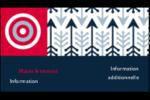 Flèche marine Carte d'affaire - gabarit prédéfini. <br/>Utilisez notre logiciel Avery Design & Print Online pour personnaliser facilement la conception.