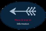 Flèche marine Étiquettes ovales - gabarit prédéfini. <br/>Utilisez notre logiciel Avery Design & Print Online pour personnaliser facilement la conception.