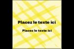 Entrelacs jaunes Étiquettes carrées - gabarit prédéfini. <br/>Utilisez notre logiciel Avery Design & Print Online pour personnaliser facilement la conception.
