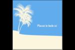 Palm Beach Étiquettes carrées - gabarit prédéfini. <br/>Utilisez notre logiciel Avery Design & Print Online pour personnaliser facilement la conception.