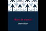 Flèche marine Étiquettes carrées - gabarit prédéfini. <br/>Utilisez notre logiciel Avery Design & Print Online pour personnaliser facilement la conception.