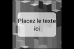 Architecture Minecraft Étiquettes carrées - gabarit prédéfini. <br/>Utilisez notre logiciel Avery Design & Print Online pour personnaliser facilement la conception.
