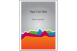 Have fun keeping track of your data with our Accounting Area Chart pre-design template!
