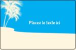 Palm Beach Étiquettes rectangulaires - gabarit prédéfini. <br/>Utilisez notre logiciel Avery Design & Print Online pour personnaliser facilement la conception.