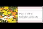 Prairie fleurie Étiquettes D'Adresse - gabarit prédéfini. <br/>Utilisez notre logiciel Avery Design & Print Online pour personnaliser facilement la conception.