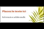 Palmes ensoleillées Étiquettes D'Adresse - gabarit prédéfini. <br/>Utilisez notre logiciel Avery Design & Print Online pour personnaliser facilement la conception.