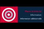 Flèche marine Étiquettes D'Adresse - gabarit prédéfini. <br/>Utilisez notre logiciel Avery Design & Print Online pour personnaliser facilement la conception.