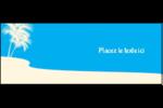 Palm Beach Affichette - gabarit prédéfini. <br/>Utilisez notre logiciel Avery Design & Print Online pour personnaliser facilement la conception.