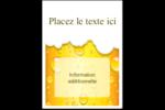 Image de bière Étiquettes rectangulaires - gabarit prédéfini. <br/>Utilisez notre logiciel Avery Design & Print Online pour personnaliser facilement la conception.