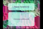 Architecture Minecraft Carte Postale - gabarit prédéfini. <br/>Utilisez notre logiciel Avery Design & Print Online pour personnaliser facilement la conception.