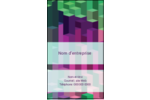 Architecture Minecraft Carte d'affaire - gabarit prédéfini. <br/>Utilisez notre logiciel Avery Design & Print Online pour personnaliser facilement la conception.