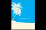 Palm Beach Carte Postale - gabarit prédéfini. <br/>Utilisez notre logiciel Avery Design & Print Online pour personnaliser facilement la conception.