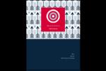 Flèche marine Carte Postale - gabarit prédéfini. <br/>Utilisez notre logiciel Avery Design & Print Online pour personnaliser facilement la conception.