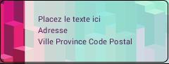 """⅔"""" x 1¾"""" Étiquettes D'Adresse - Architecture Minecraft"""