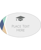 Give your project a preppy pep to its step with pre-designed Grad colours templates.