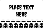 Add playful style to custom projects with pre-designed Halloween Pac-Man Ghosts templates.