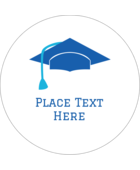 Bring a sense of celebratory whimsy to your project with pre-designed Grad Caps templates.