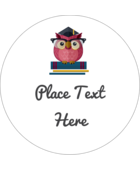 Bring a stylish sense of achievement to your project with predesigned Grad Owl templates.