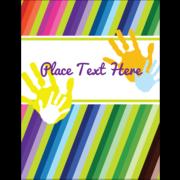 Rainbow Hand Print