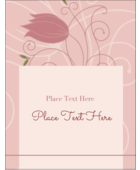 Pick a fresh floral style for your project with pre-designed Pink Tulip templates.