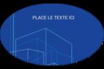 Plans de construction Étiquettes ovales - gabarit prédéfini. <br/>Utilisez notre logiciel Avery Design & Print Online pour personnaliser facilement la conception.