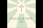 Croix pastel Étiquettes carrées - gabarit prédéfini. <br/>Utilisez notre logiciel Avery Design & Print Online pour personnaliser facilement la conception.